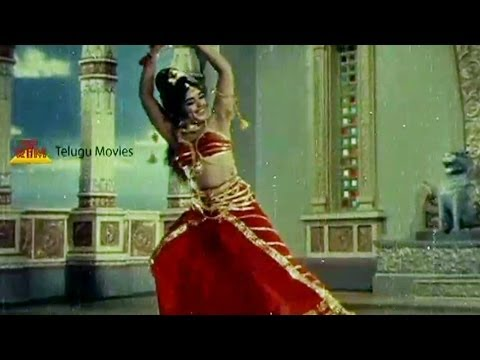 L.Vijaya Lakshmi Extraordinary Classical Dance In Bhakta Prahlada Telugu Movie
