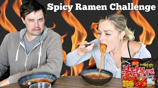 SUPER SPICY RAMEN CHALLENGE (Korean Fire Noodle)
