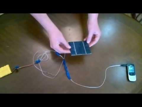 Как сделать зарядку для телефона из солнечных батарей 173
