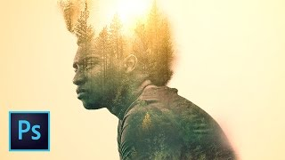 Create a Double Exposure Image in Photoshop (Amazing Double Exposure Effect Tutorial)
