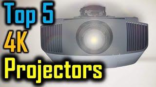 Top 5 4K Projectors 2018 | 5 Best 4K Projectors | Best 4K Projectors Reviews