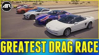 Forza Horizon 3 Online : World's Greatest Drag Race!!!