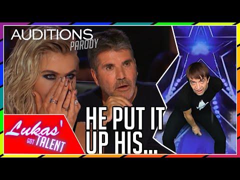 Never Seen Before IMPOSSIBLE Magic Tricks on America s Got Talent Britain s Got Talent parody
