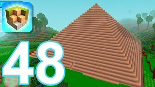 Block Craft 3D: City Building Simulator - Gameplay Walkthrough Part 48 - Pyramid of Giza (iOS)