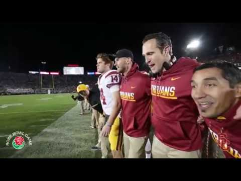 Sights and Sounds The Rose Bowl USC vs. Penn State