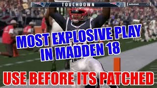 THIS RUN IS A GLITCH! EASIEST RUN IN MADDEN 18! PLUS INSTANT OPEN PASS PLAY! Eagles playbook tips