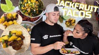 Howto Make JACKFRUIT TACOS With Alexisjayda - RUDEENUMBER1