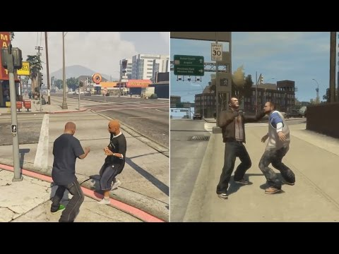 GTA 4 IS 100 BETTER THAN GTA 5 side by side PROOF