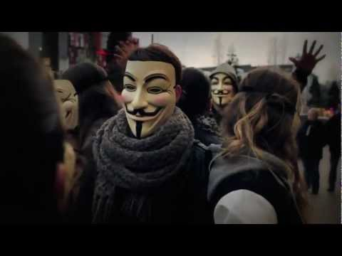 Nicky Romero - Toulouse [Official Video] (Original Mix) (Guy Fawkes mask)