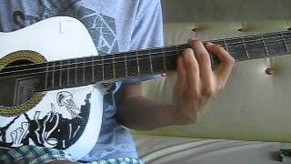 The Rising Fighting Spirit (Naruto Soundtrack) - Acoustic Guitar Cover
