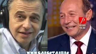 Basescu si Geoana la Cronica Carcotasilor