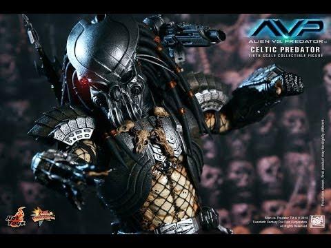 AVP Alien VS Predator Hot Toys Celtic Predator Movie Masterpiece 1 6 Scale Figure Review