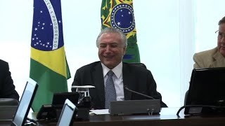 Temer charged with corruption, money laundering