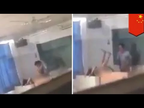 Xxx Mp4 Teacher And Student Doing It In Classroom At College In China Caught On Camera TomoNews 3gp Sex