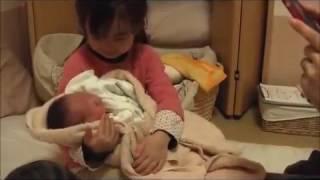 感動的な出産の瞬間