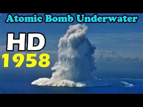 HD atomic bomb Underwater Nuclear Burst
