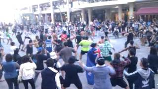 flash mob haka Perth 12/9/2011