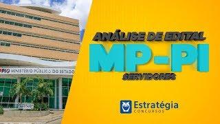 Concurso MP-PI: Análise de Edital 2018