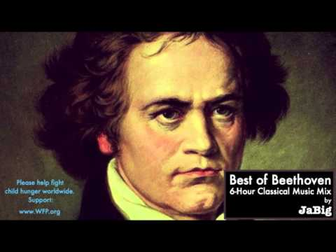 6 Hour of The Best Beethoven Classical Music Piano Studying Concentration Playlist Mix by JaBig