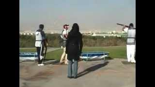 فينال مسابقات آزاد تراپ1389(2)./.Shooting Sport TRAP./