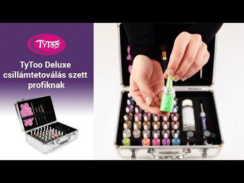 TyToo Deluxe csillámtetoválás szett profiknak