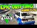 EPIC DRIFTING KARIN FUTO EL MEJOR DRIFT DE GTA 5 ONLINE Makiman
