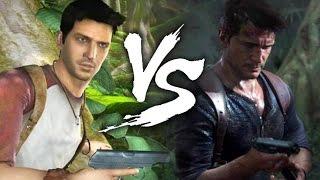 Uncharted VS Uncharted 4