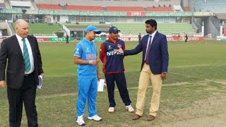 India VS Nepal U-19 Cricket World Cup Match Highlight
