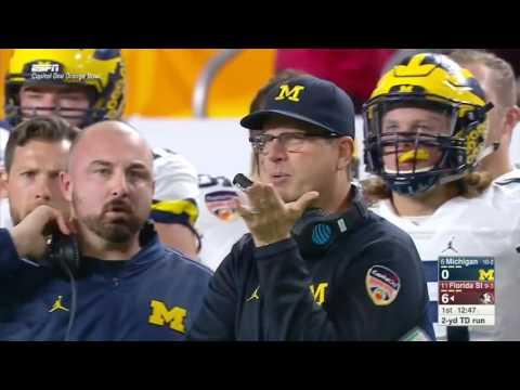 Michigan vs Florida State FULL Game 2016 Orange Bowl