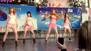 Waveya girls dancing k-pop Live Performance 2012