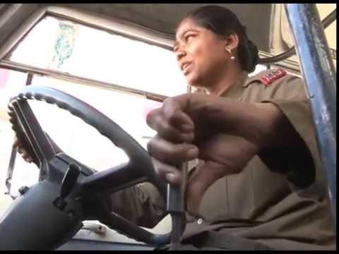 Amazing The Best Lady Bus Driver  @ BMTC Bangalore | INDIA