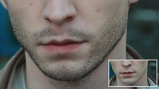 Create Real Facial Hairs In Photoshop CC 2017