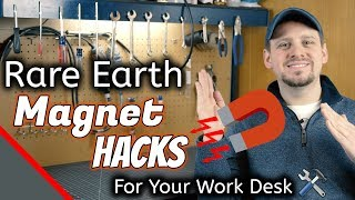 Wood Carving Tool Room Hacks: Rare Earth Magnets