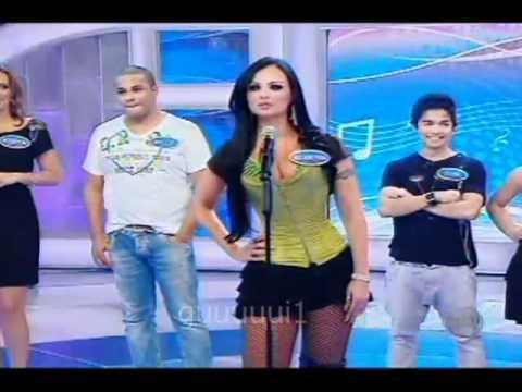 Mulher Pêra Programa Silvio Santos 20 02 2011