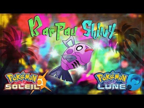 ★ [Pokemon Soleil/Lune] Astuce: Barpau Shiny !
