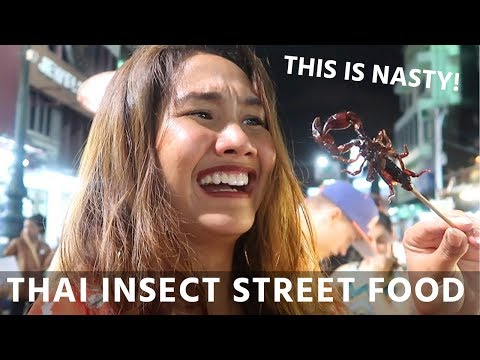 Xxx Mp4 EATING THAI INSECT STREET FOOD 48 Hours In Bangkok 3gp Sex
