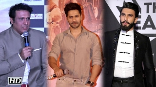 """Ranveer- Varun can't AFFORD to go against Salman Khan"" says Govinda"