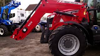 Massey Ferguson 6616 Dyna VT 50KPH c/w MF 966 loader