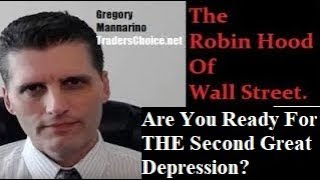 Post Market Wrap Up: Are You Ready For THE Second Great Depression? By Gregory Mannarino