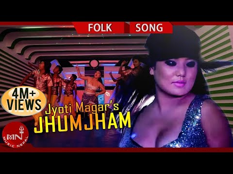 New Nepali Song  | Jyoti Magar New Song Item Dance JHUM JHAM | Saugat Ojha,B Star Films