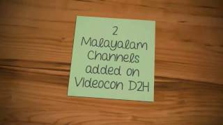2 malayalam Channels added on Videocon D2H