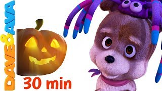 👻 Halloween Songs | New Scary Nursery Rhymes Collection from Dave and Ava 👻