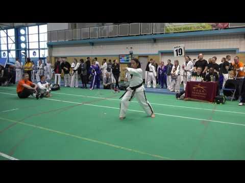 2016 TAGB Welsh Taekwondo Championships Rita Levan Moon Moo