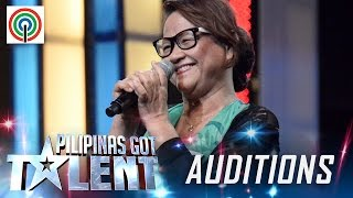 Pilipinas Got Talent Season 5 Auditions: Mercy Viola Daily - Lola Rapper