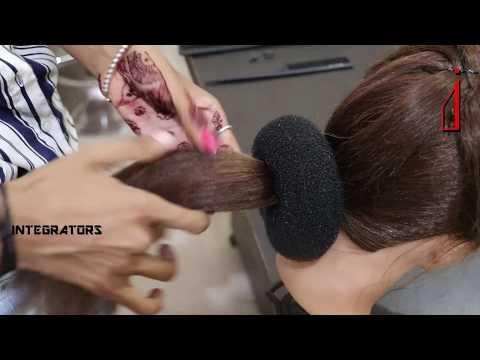 Xxx Mp4 Perfect Indian Ethnic Hair Bun Big Low Donut Bun Indian Bun To Wear With Saree Integrators 3gp Sex