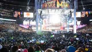 Wrestlemania 29 - CM Punk's live entrance