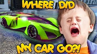 DELETING KIDS MOST EXPENSIVE CARS ON GTA ONLINE! (GTA 5 Trolling)