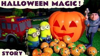 Halloween Minions Magic with Gru Thomas & Friends and Tonka Trucks Toys and Cars for Kids Fun TT4U