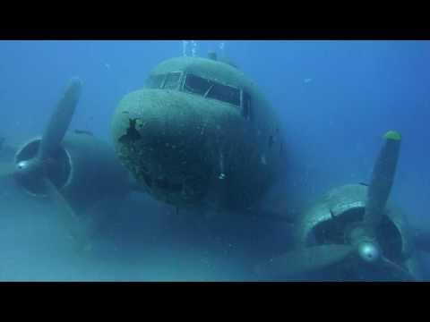 Flugzeugwrack DC 3 Kas Türkei