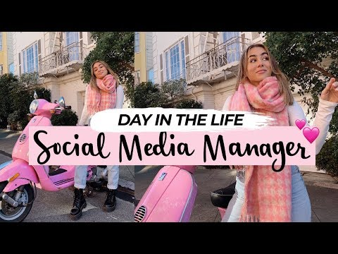 WORKING IN SOCIAL MEDIA & INFLUENCERS Day in my Life! | Julia Havens